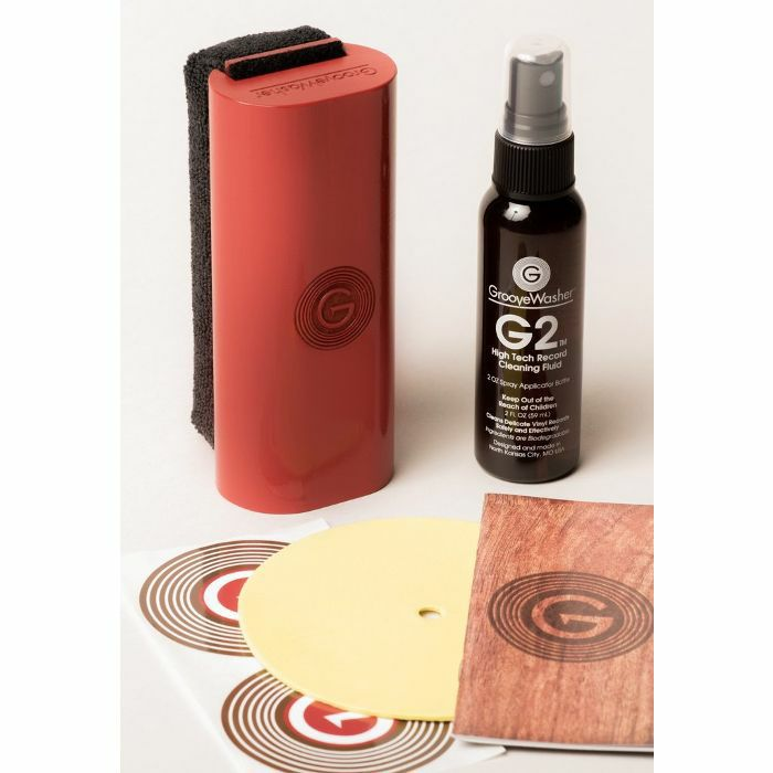 GROOVEWASHER - GrooveWasher Record Cleaning Kit (Red Hot Red)