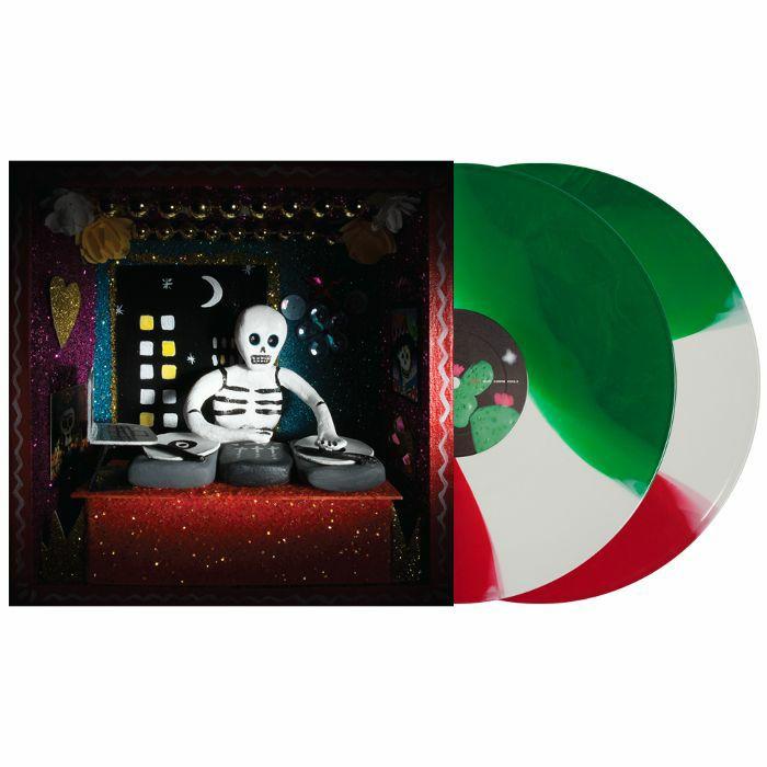 SERATO - Serato 12 Inch Control Vinyl Mexico Dia De Los Muertos (2 x 12 inch, tricolour vinyl)