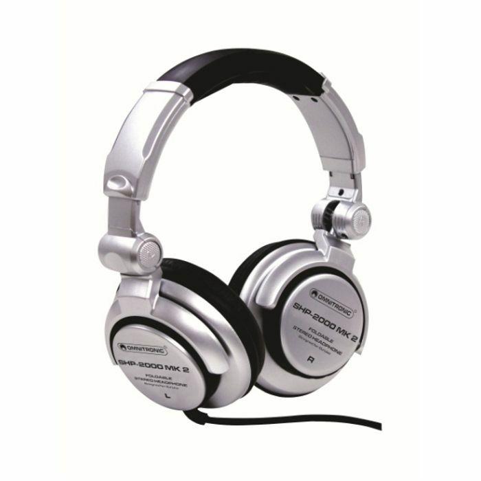 OMNITRONIC - Omnitronic SHP2000 MK2 DJ Headphones
