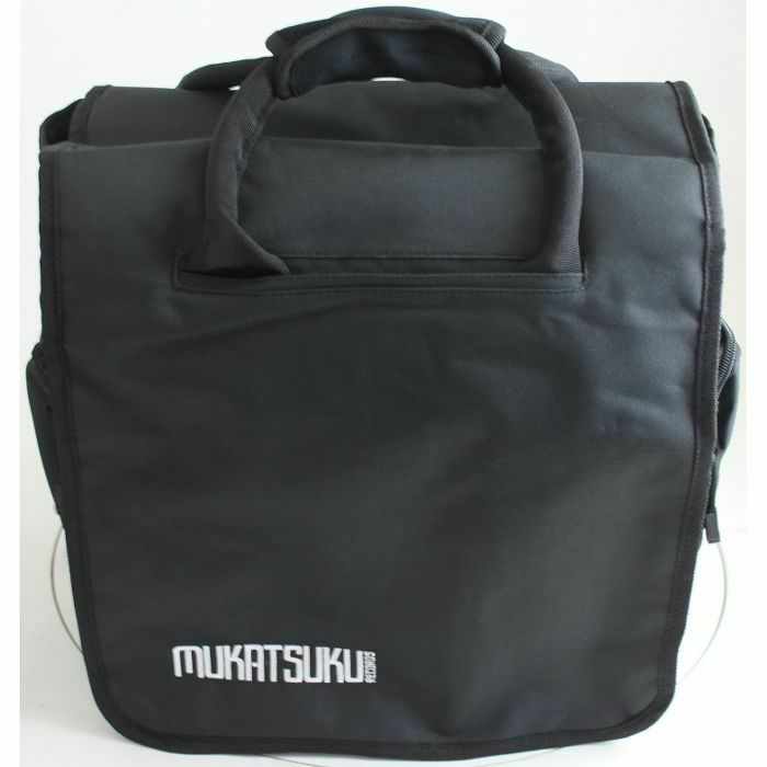 MUKATSUKU - Mukatsuku Black 65 Backpack 12 Inch Record Bag (holds up to 65 x 12'' records) *Juno Exclusive*