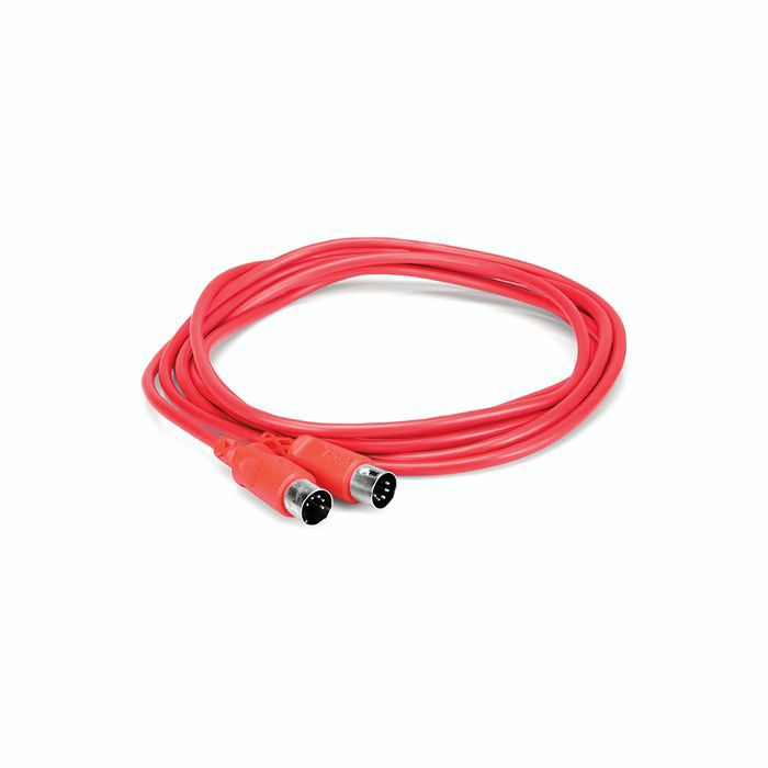 HOSA - Hosa MID310 MIDI Cable (10 ft, red)