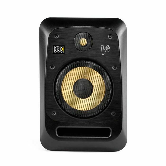 KRK - KRK V8S4 Active Studio Monitor (single, black) (B-STOCK)