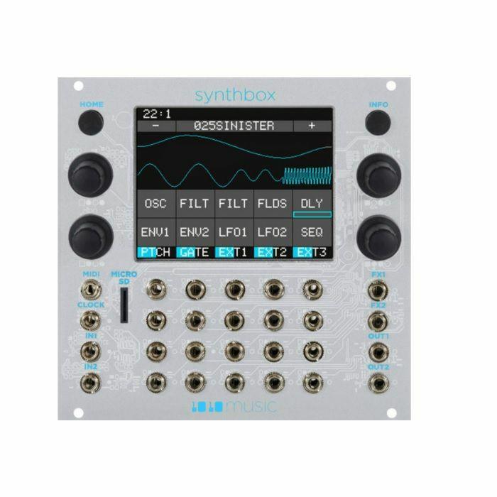 1010 MUSIC - 1010 Music Synthbox Polyphonic Synthesizer Module