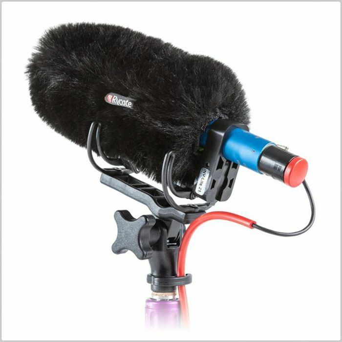 RYCOTE - Rycote Softie Lite 21 Slip On Microphone Windshield Kit With Shockmount & Cable