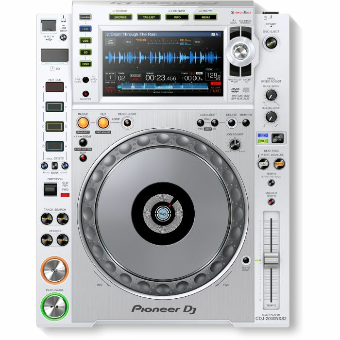 PIONEER - Pioneer CDJ 2000NXS2 Professional Multi Player (white)