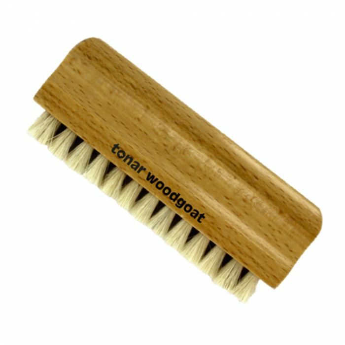 TONAR - Tonar Woodgoat Natural Goats Hair Record Cleaning Brush