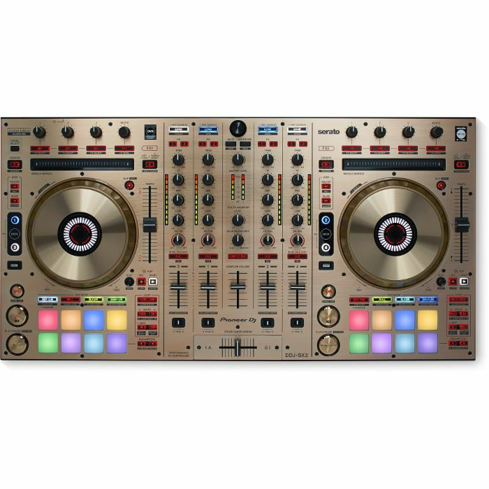 PIONEER - Pioneer DDJ SX2 Performance DJ Controller With Serato DJ Software (limited edition gold version)