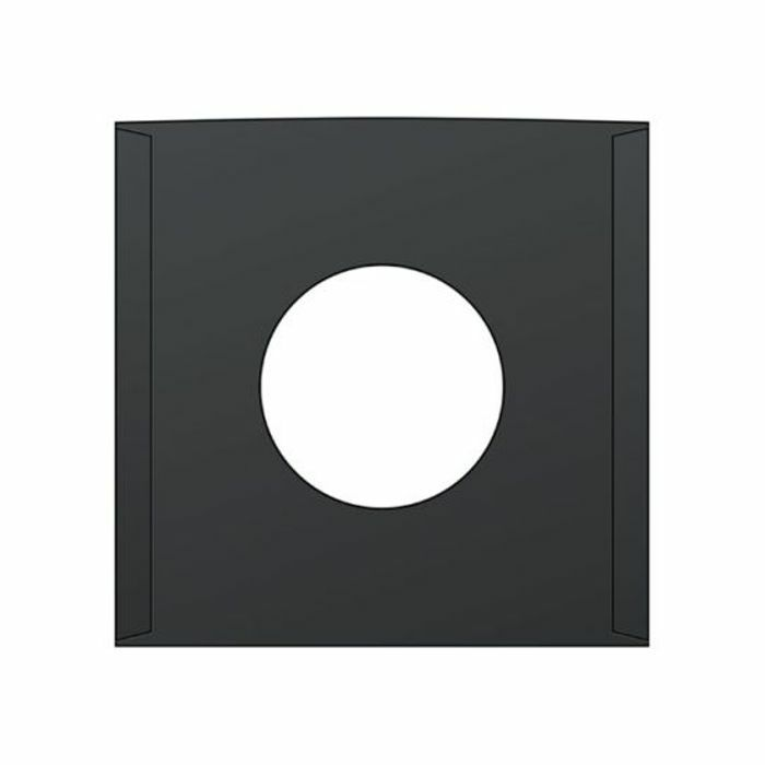 BAGS UNLIMITED - Bags Unlimited 7'' Black Paper Record Sleeves (pack of 25)