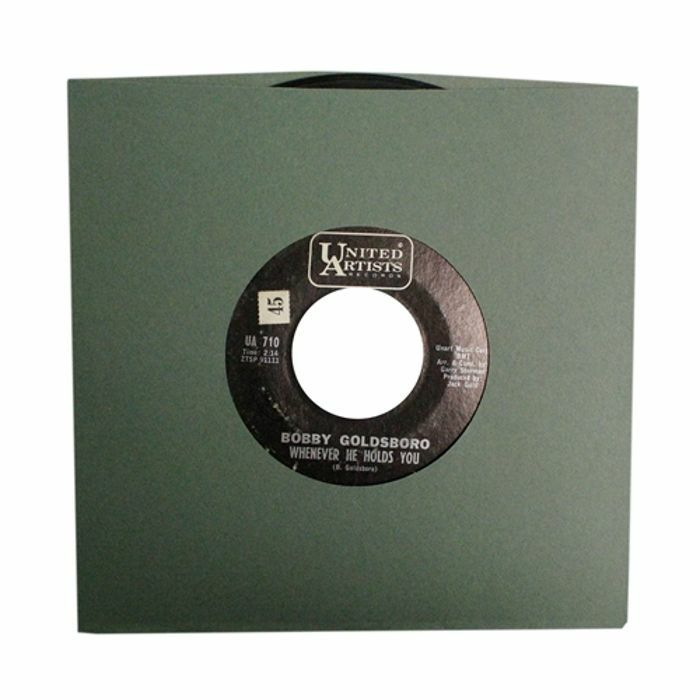 BAGS UNLIMITED - Bags Unlimited 7'' Antique Green Old Style Paper Record Sleeves (pack of 25)