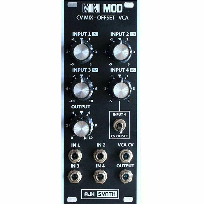 AJH SYNTH - AJH Synth Mini Mod CV Mix Offset VCA Module (black) (B-STOCK)