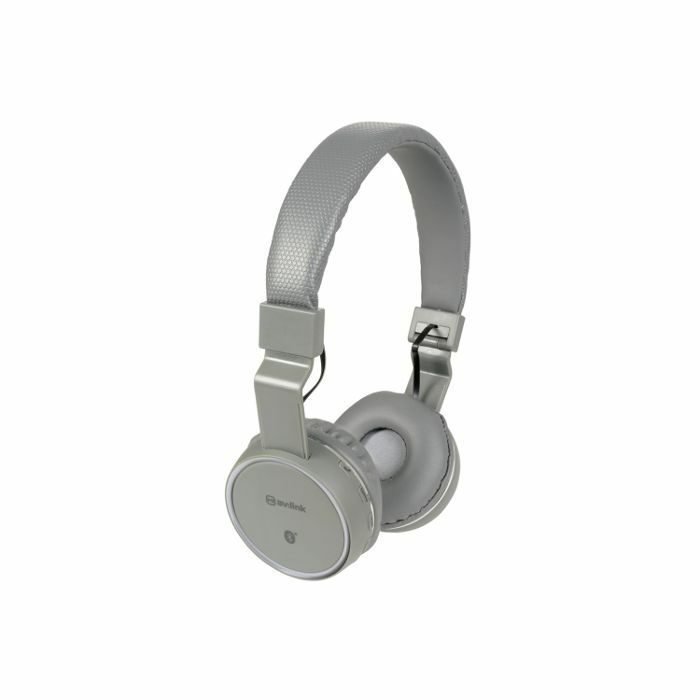 AV LINK - AV Link Rechargeable Wireless Bluetooth Noise Cancelling Headphones (dark grey)