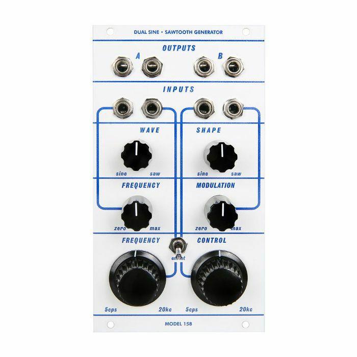 CATALYST AUDIO - Catalyst Audio Model 158 Dual Sine Sawtooth Generator Module