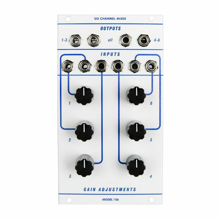 CATALYST AUDIO - Catalyst Audio Model 106 6 Channel Mixer Module