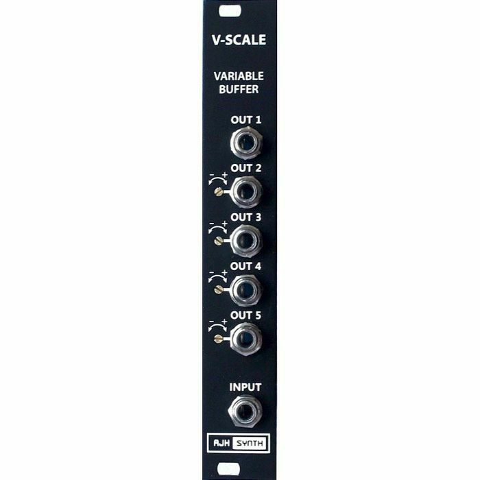 AJH SYNTH - AJH Synth V Scale Variable Buffer & Multi Module (black) (B-STOCK)