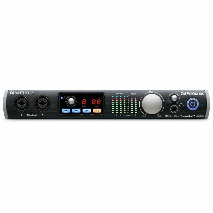 PRESONUS - Presonus Quantum 2 Thunderbolt Audio & MIDI Interface