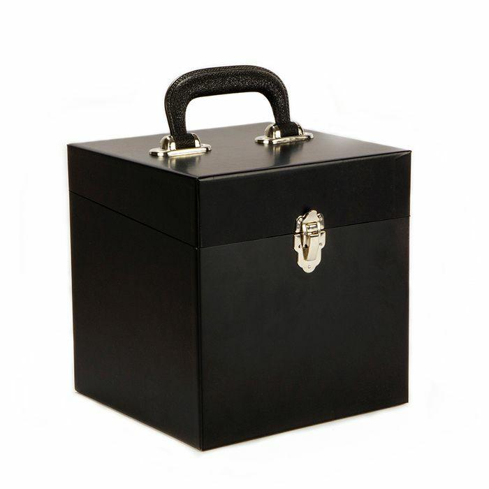 JAZZMAN - Black 60 Record Box