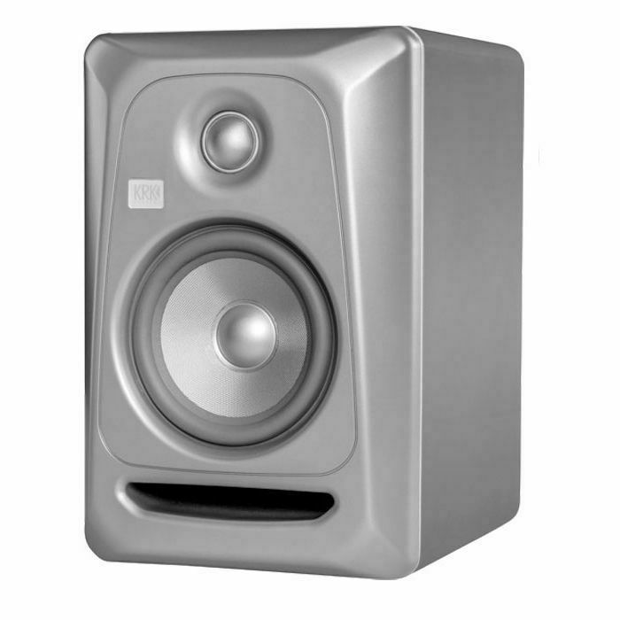 KRK - KRK Rokit RP5 G3 Active Studio Monitor Speaker (single, platinum with platinum cone) (B-STOCK)