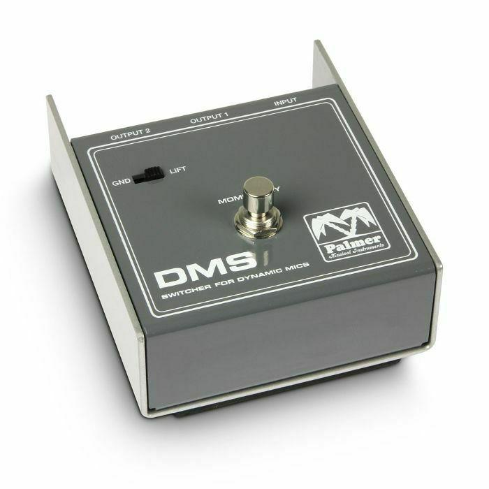 PALMER MI - Palmer MI DMS Dynamic Mic Switcher Pedal (B-STOCK)