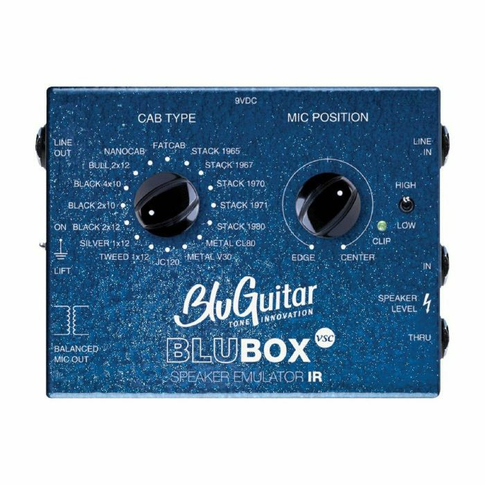 BLUGUITAR - BluGuitar BluBox Impulse Response Guitar Amp Speaker Emulator IR (B-STOCK)