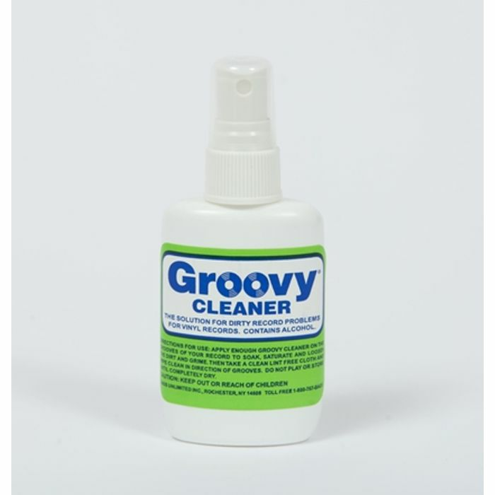 GROOVY - Groovy Record Cleaning Fluid (2oz bottle)