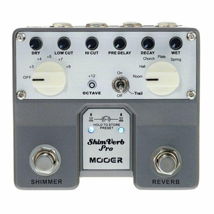 MOOER - Mooer Shim Verb Pro Digital Reverb Twin Pedal