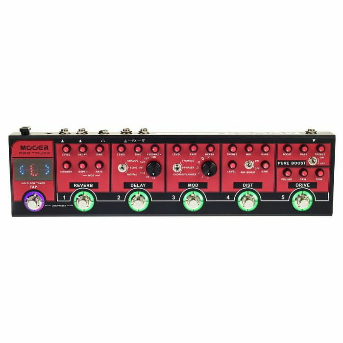 MOOER - Mooer Red Truck Combined Effects Pedal
