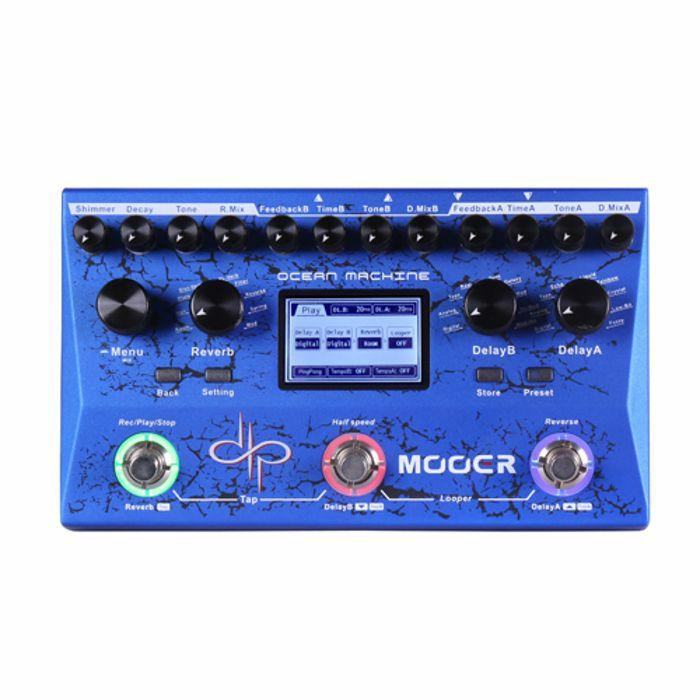 MOOER - Mooer Ocean Machine Delay Reverb & Looper Pedal