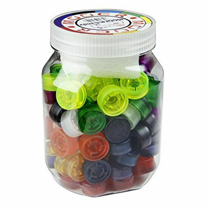 MOOER - Mooer Footswitch Topper (mixed colours, jar of 100)