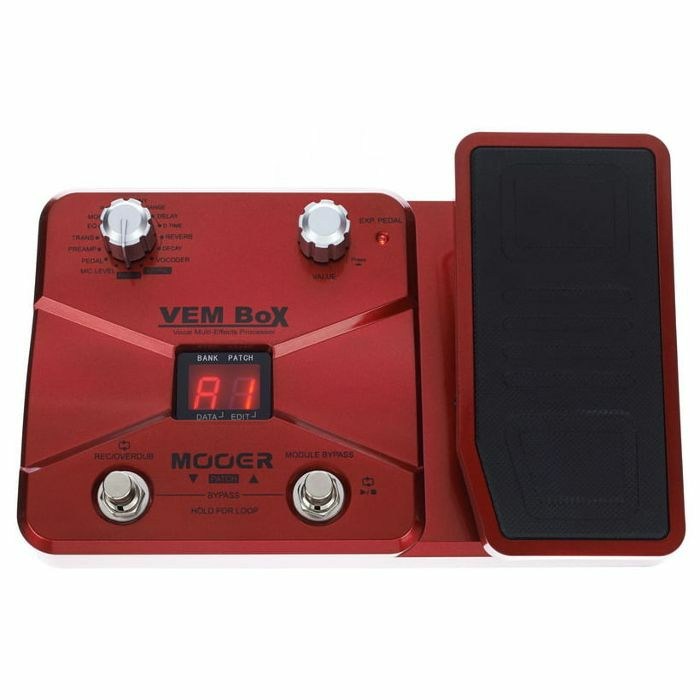 MOOER - Mooer VEM Box Vocal Multi Effects Processor Pedal