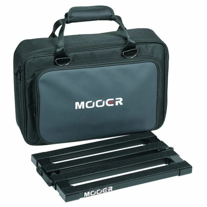 MOOER - Mooer Stomplate Folding Guitar Effects Pedal Board & Carry Bag