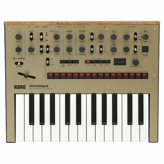 KORG - Korg Monologue Monophonic Analogue Synthesizer (gold) (B-STOCK)