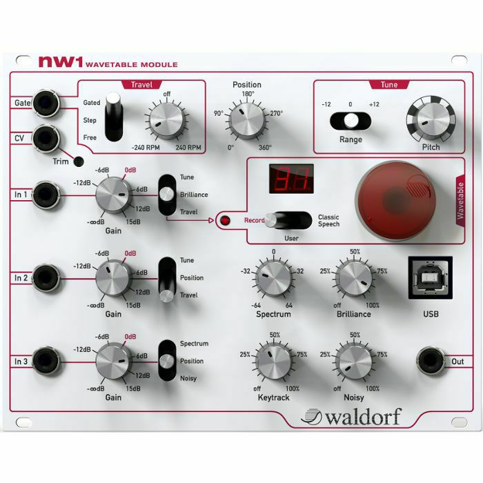 WALDORF - Waldorf NW1 Wavetable Eurorack Synth Module (B-STOCK)