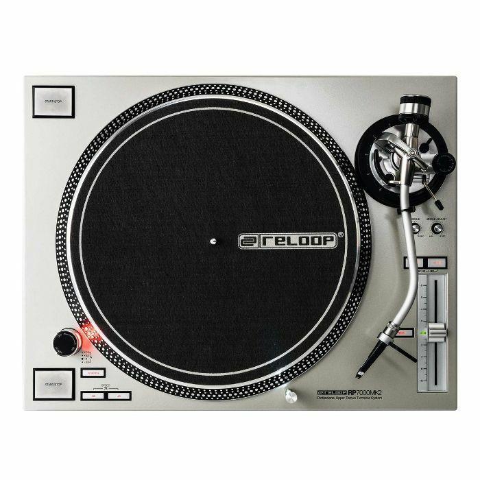 RELOOP - Reloop RP-7000 MK2 DJ Turntable (silver)