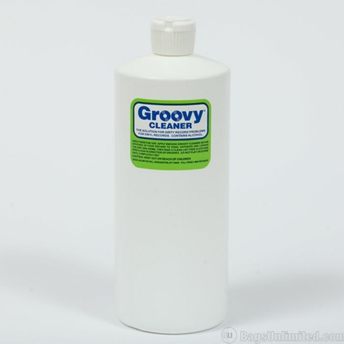 GROOVY - Groovy Record Cleaning Fluid (32oz bottle)