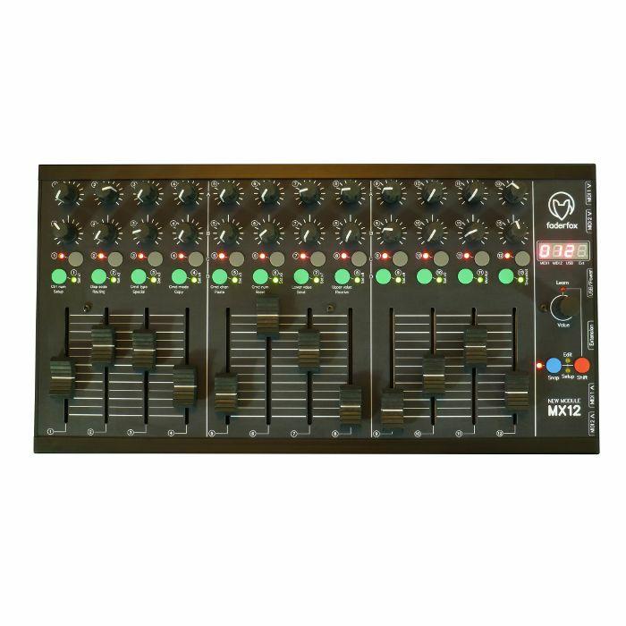 FADERFOX - Faderfox MX12 MIDI Mix Controller