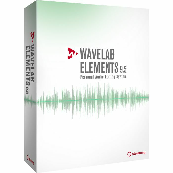 STEINBERG - Steinberg Wavelab Elements 9.5 Audio Editing & Mastering Software Suite (boxed retail version)