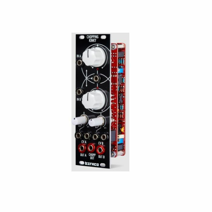 BEFACO - Befaco Chopping Kinky Voltage Controllable Dual Channel Wavefolder Module (assembled)