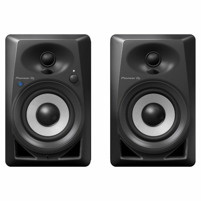 PIONEER - Pioneer DM-40BT Bluetooth Active Desktop Monitor Speakers (pair, black)