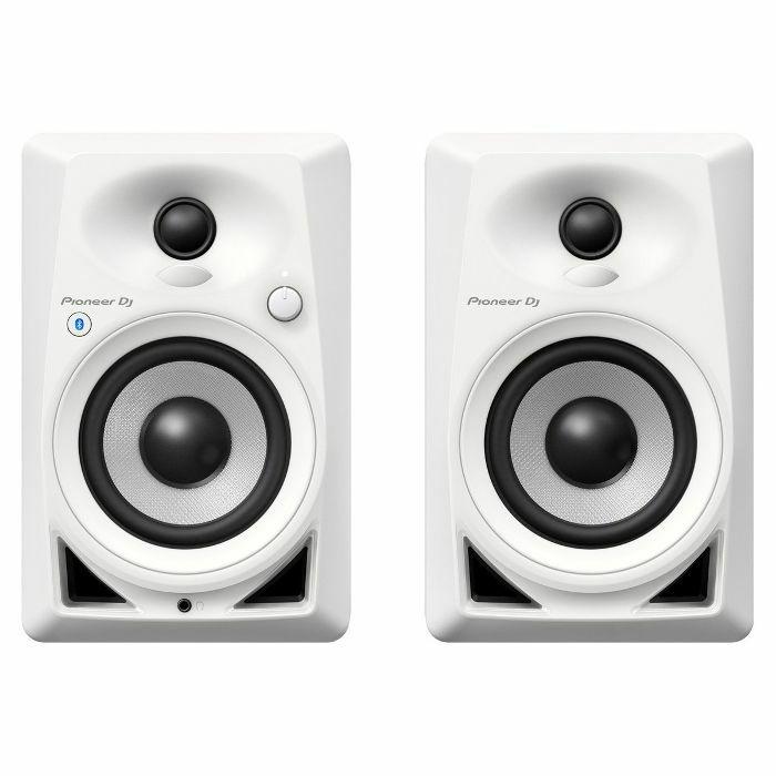 PIONEER - Pioneer DM40 Bluetooth Active Desktop Monitor Speakers (pair, white)
