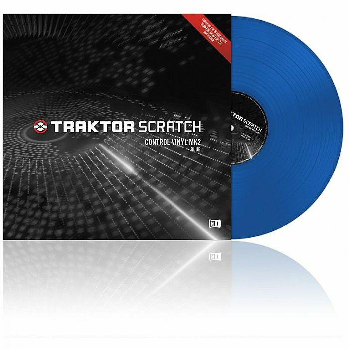 NATIVE INSTRUMENTS - Native Instruments Traktor Scratch Control Vinyl MkII (blue) (B-STOCK)