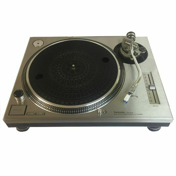 1200 PLATES - 1200 Plates Technics 1200/1210 MK2 Faceplates (stainless steel, pair) (B-STOCK)