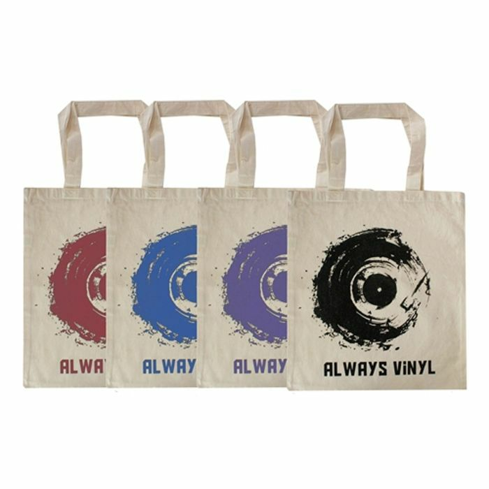 URP - Always Vinyl Tote Bag (purple ink)