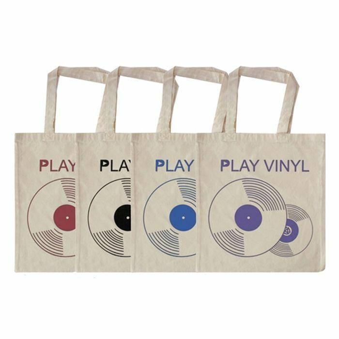 URP - Play Vinyl Tote Bag (blue ink)