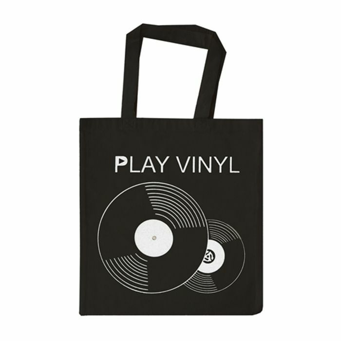 URP - Play Vinyl Tote Bag (white ink)