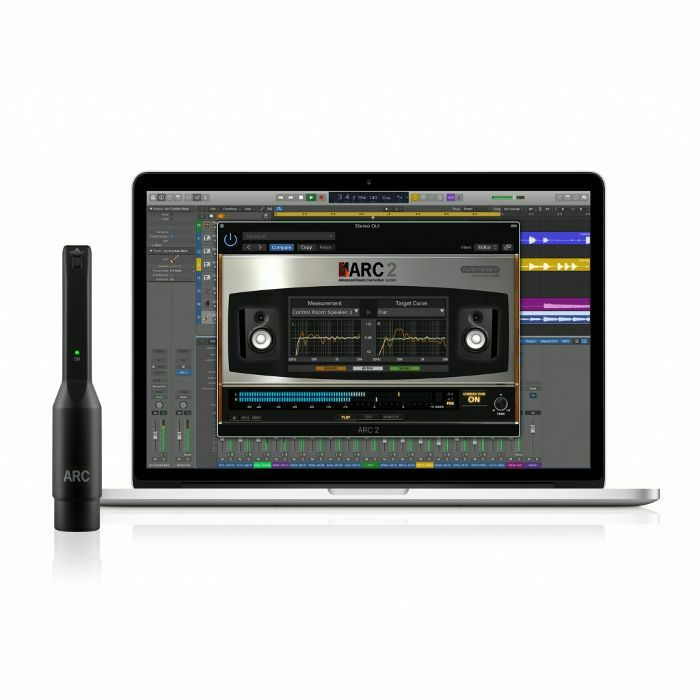 IK MULTIMEDIA - IK Multimedia ARC System 2.5 Crossgrade With MEMS Measurement Microphone (crossgrade from any previously purchased IK product priced at €99.99+VAT or more) (B-STOCK)