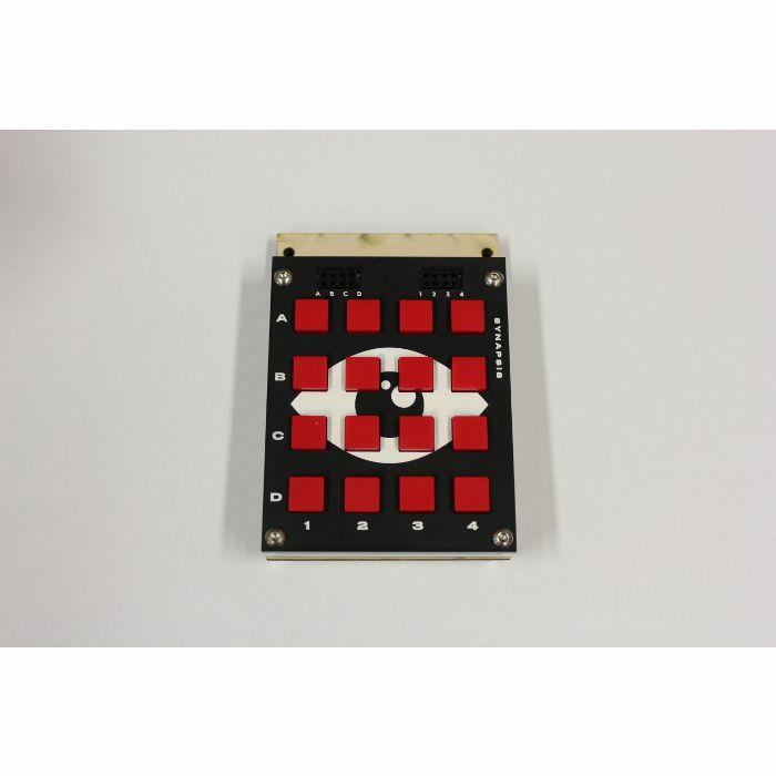 BASTL INSTRUMENTS - Bastl Instruments Synapsis 4x4 Pushbutton Matrix For Bit Ranger (Shadow Detective version)