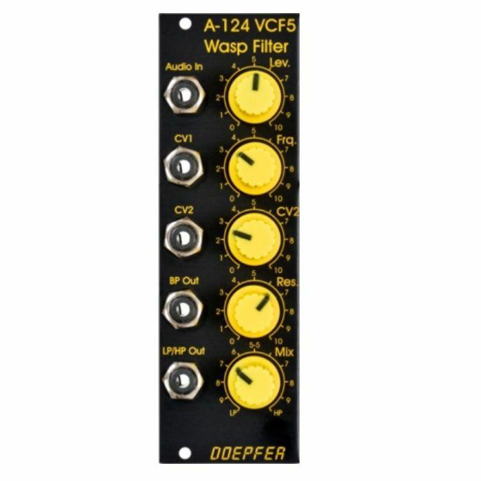 DOEPFER - Doepfer A-124 Wasp Filter SE Module (special edition black & yellow version)