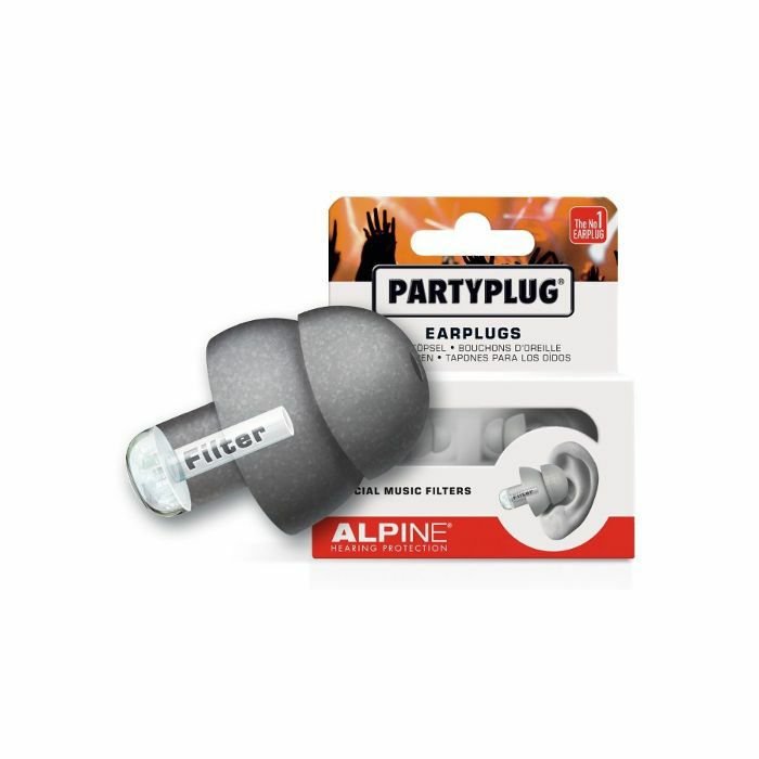 ALPINE - Alpine Party Plug Hearing Protection Earplugs (silver)