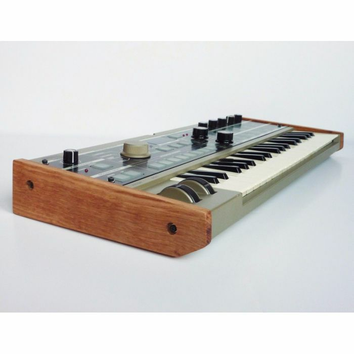 SYNTHS & WOOD - Synths & Wood Solid Oak End Cheeks For Korg Microkorg Synthesizer (pair)