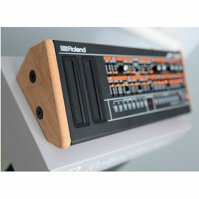 SYNTHS & WOOD - Synths & Wood Solid Oak End Cheeks Stand For Roland Boutique Series Synthesiser